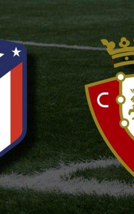 Apostas Atlético de Madrid vs Osasuna La Liga 16/05/21