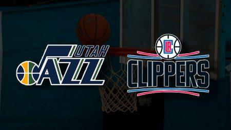 Apostas Utah Jazz vs Los Angeles Clippers Jogo 2 Playoffs NBA 10/06/21