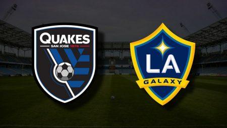 Apostas San Jose Earthquakes vs LA Galaxy MLS 26/06/21