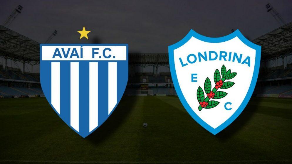 Apostas Londrina vs Avaí Brasileirão Série B 30/06/21