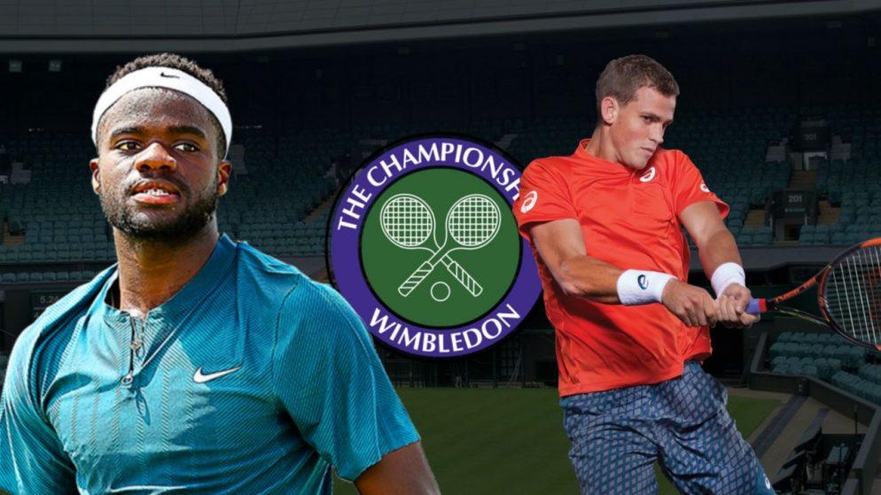 Apostas Francis Tiafoe vs Vasek Pospisil Wimbledon 30/06/21