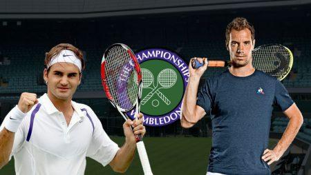 Apostas Roger Federer vs Richard Gasquet Wimbledon 01/07/21