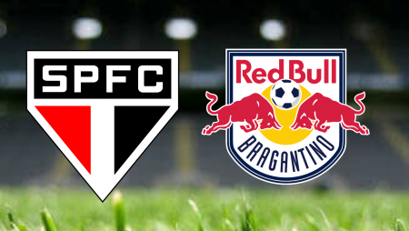 Apostas São Paulo vs Red Bull Bragantino Brasileirão 04/07/21