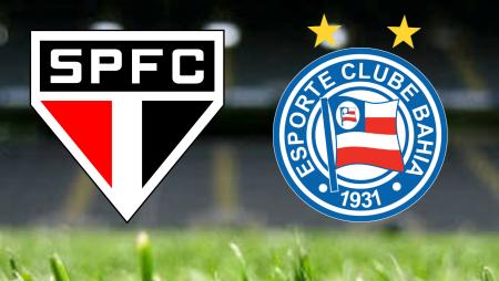 Apostas São Paulo vs Bahia Brasileirão 10/07/21