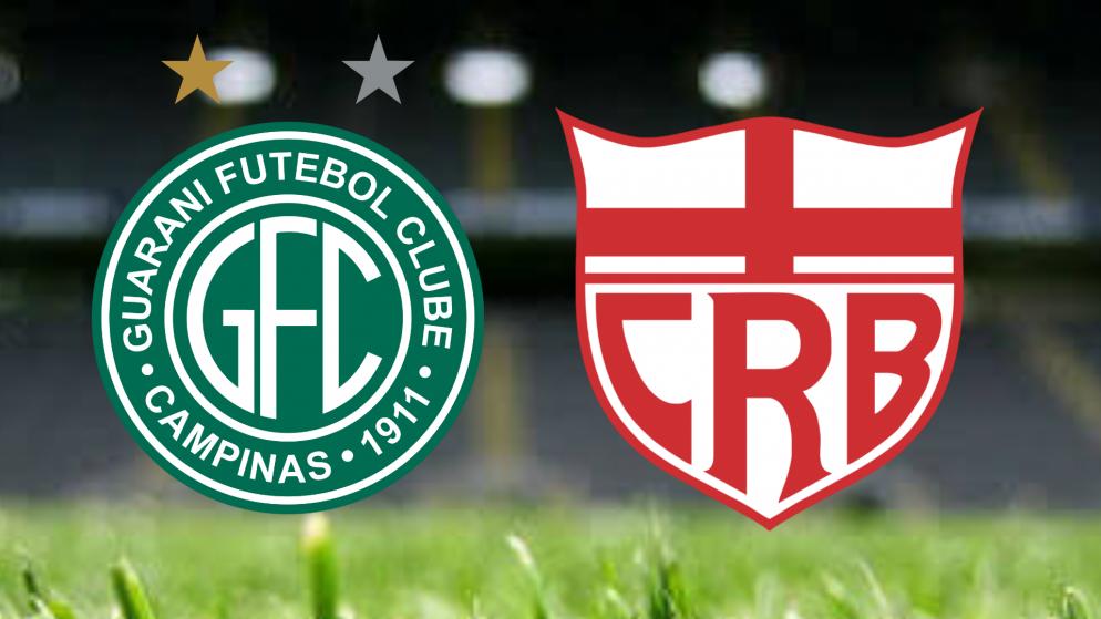 Apostas Guarani vs CRB Brasileirão Série B 13/07/21