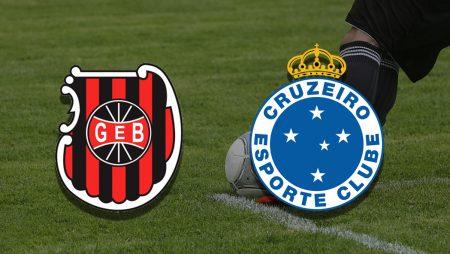 Apostas Brasil de Pelotas vs Cruzeiro Série B 03/07/21