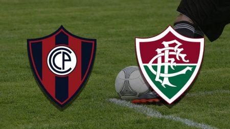 Apostas Cerro Porteño vs Fluminense Libertadores 13/07/21