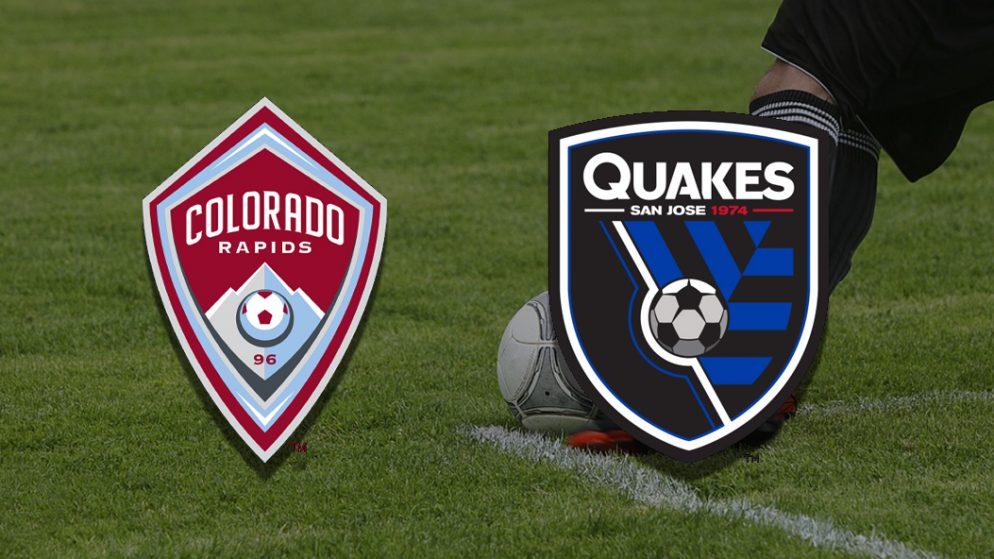 Apostas Colorado Rapids vs San Jose Earthquakes MLS 18/07/21