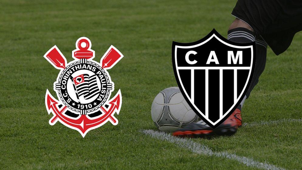 Apostas Corinthians vs Atlético Mineiro Brasileirão 17/07/21