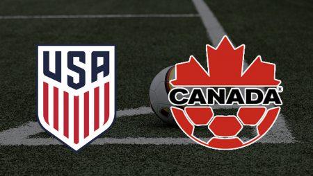 Apostas Estados Unidos vs Canadá Copa Ouro 18/07/21