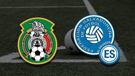 Apostas México vs El Salvador Copa Ouro 19/07/21
