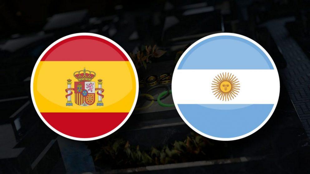 Apostas Espanha Olímpica vs Argentina Olímpica Tóquio 2020 28/07/21