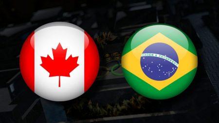 Apostas Canadá Feminino vs Brasil Feminino Tóquio 2020 30/07/21