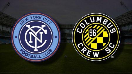 Apostas New York City FC vs Columbus Crew MLS 30/07/21