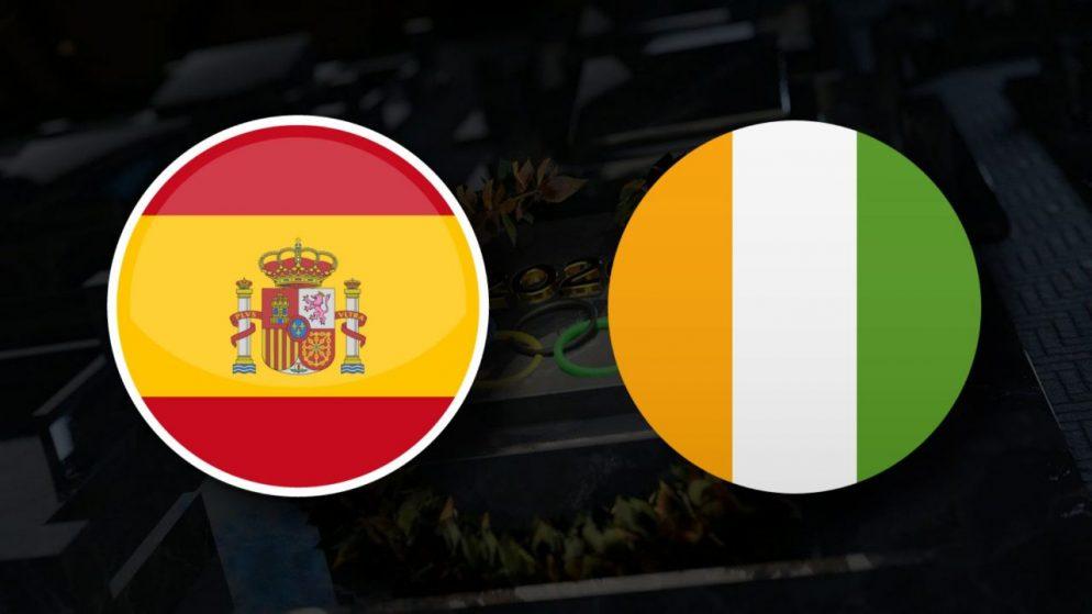 Apostas Espanha Olímpica x Costa do Marfim Olímpica Tóquio 2020 31/07/21