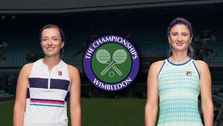 Apostas Iga Swiatek vs Irina-Camelia Begu Wimbledon 02/07/21