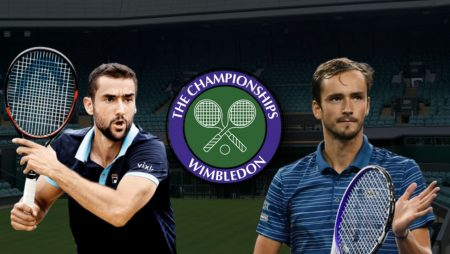 Apostas Marin Cilic vs Daniil Medvedev Wimbledon 03/07/21
