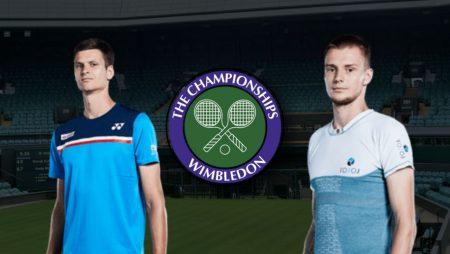 Apostas Hubert Hurkacz vs Alexander Bublik Wimbledon 03/07/21