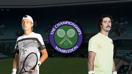 Apostas Ilya Ivashka vs Jordan Thompson Wimbledon 03/07/21