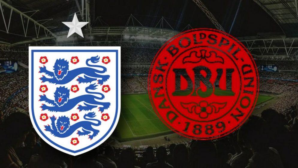 Apostas Inglaterra vs Dinamarca Euro 07/07/21