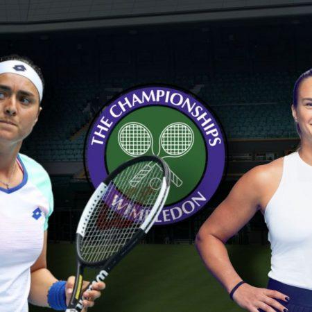 Apostas Ons Jabeur vs Aryna Sabalenka Wimbledon 06/07/21