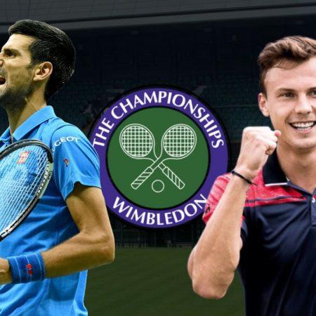 Apostas Novak Djokovic vs Márton Fucsovics Wimbledon 07/07/21
