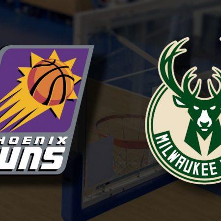 Apostas Phoenix Suns vs Milwaukee Bucks Jogo 5 Finais NBA 17/07/21