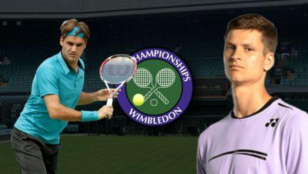 Apostas Roger Federer vs Hubert Hurkacz Wimbledon 07/07/21