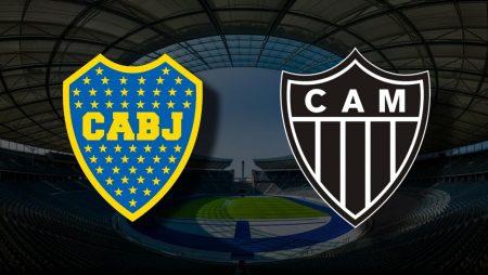 Apostas Boca Juniors vs Atlético Mineiro Libertadores 13/07/21