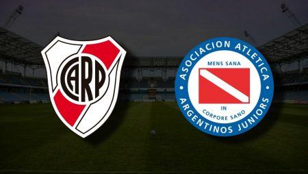 Apostas River Plate vs Argentinos Juniors Libertadores 14/07/21