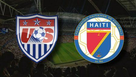 Apostas EUA vs Haiti Copa Ouro 11/07/21