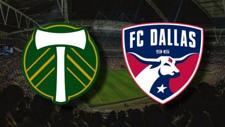 Apostas Portland Timbers vs Dallas FC MLS 17/07/21