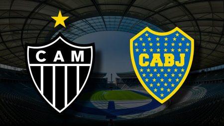 Apostas Atlético Mineiro vs Boca Juniors Libertadores 20/07/21