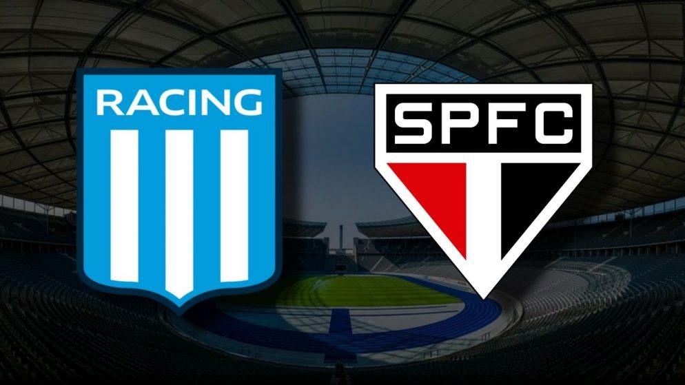 Apostas Racing vs São Paulo Libertadores 20/07/21
