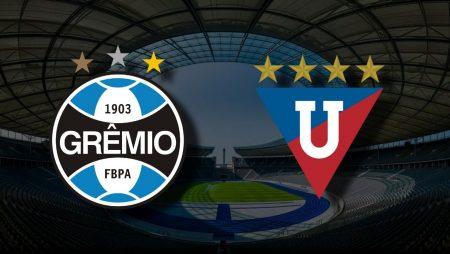 Apostas Grêmio vs LDU de Quito Sul-Americana 20/07/21