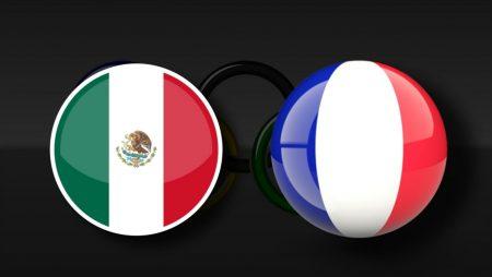 Apostas México Olímpico vs França Olímpica Tóquio 2020 22/07/21