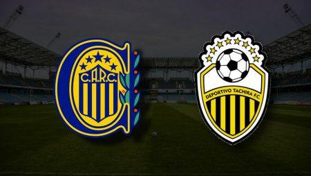 Apostas Rosario Central vs Deportivo Táchira Sul-Americana 22/07/21