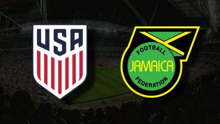 Apostas EUA vs Jamaica Copa Ouro 25/07/21