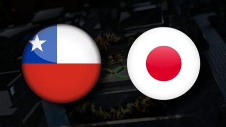 Apostas Chile Feminino vs Japão Feminino Tóquio 2020 27/07/21