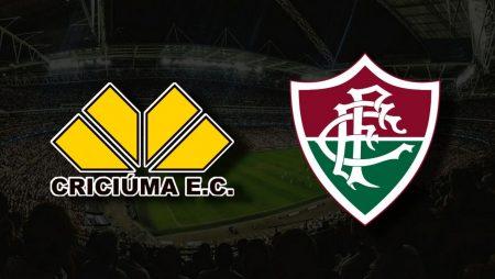 Apostas Criciúma vs Fluminense Copa do Brasil 27/07/21