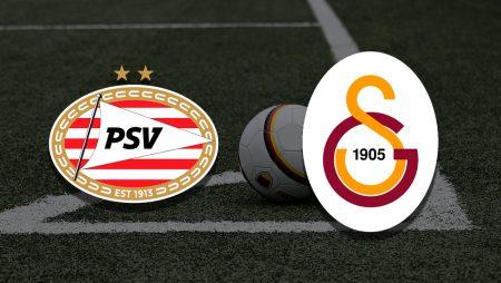 Apostas PSV Eindhoven vs Galatasaray Champions League 21/07/21