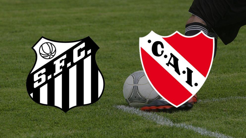 Apostas Santos vs Independiente Sul-Americana 15/07/21