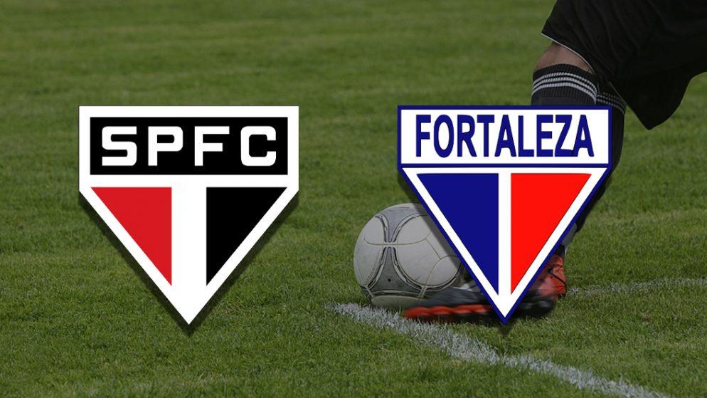 Apostas São Paulo vs Fortaleza Brasileirão 17/07/21