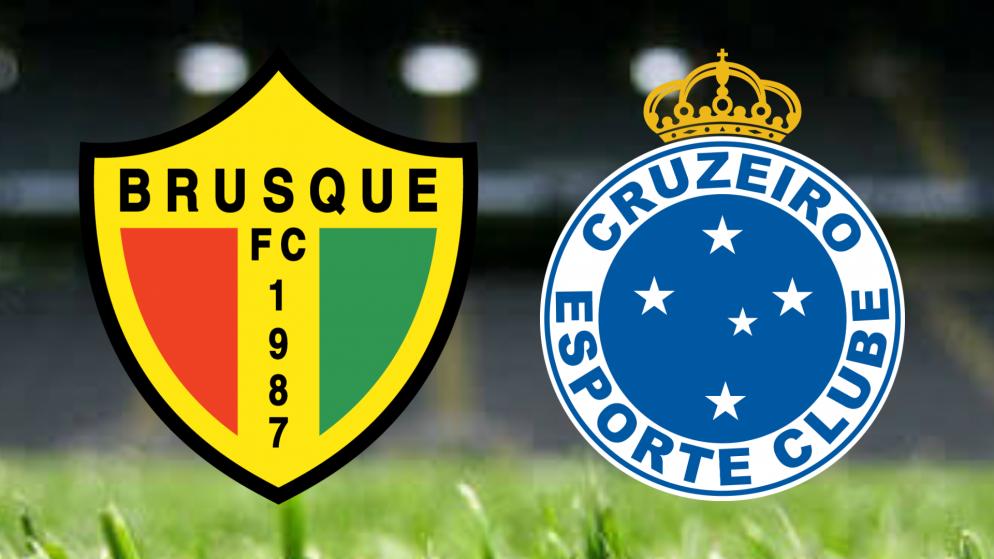 Apostas Brusque vs Cruzeiro Brasileirão Série B 07/08/21