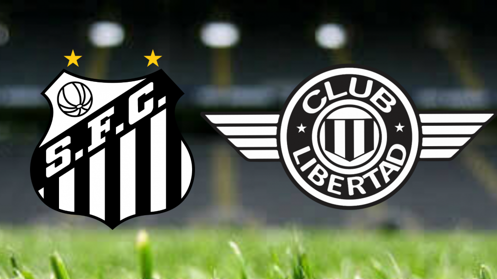 Apostas Club Libertad vs Santos Sul-Americana 20/08/21