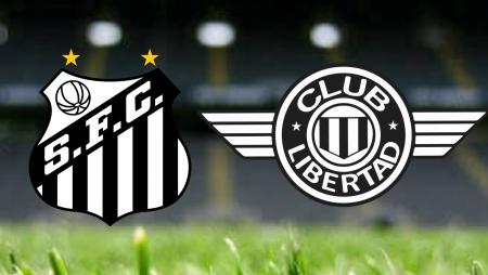 Apostas Santos vs Club Libertad Sul-Americana 13/08/21