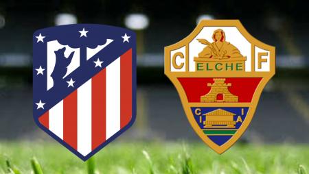 Apostas Atlético de Madrid vs Elche La Liga 22/08/21