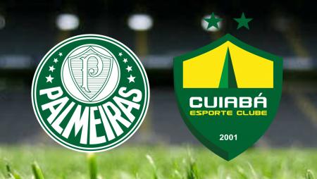 Apostas Palmeiras vs Cuiabá Brasileirão 22/08/21