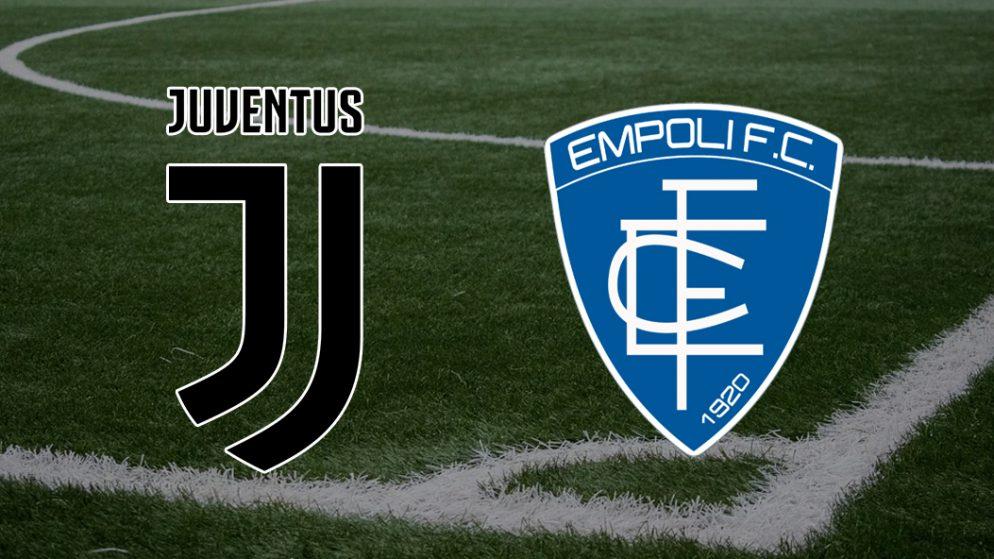 Apostas Juventus vs Empoli Serie A 28/08/21