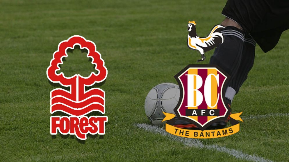 Apostas Nottingham Forest vs Bradford Taça da Liga Inglesa 11/08/21